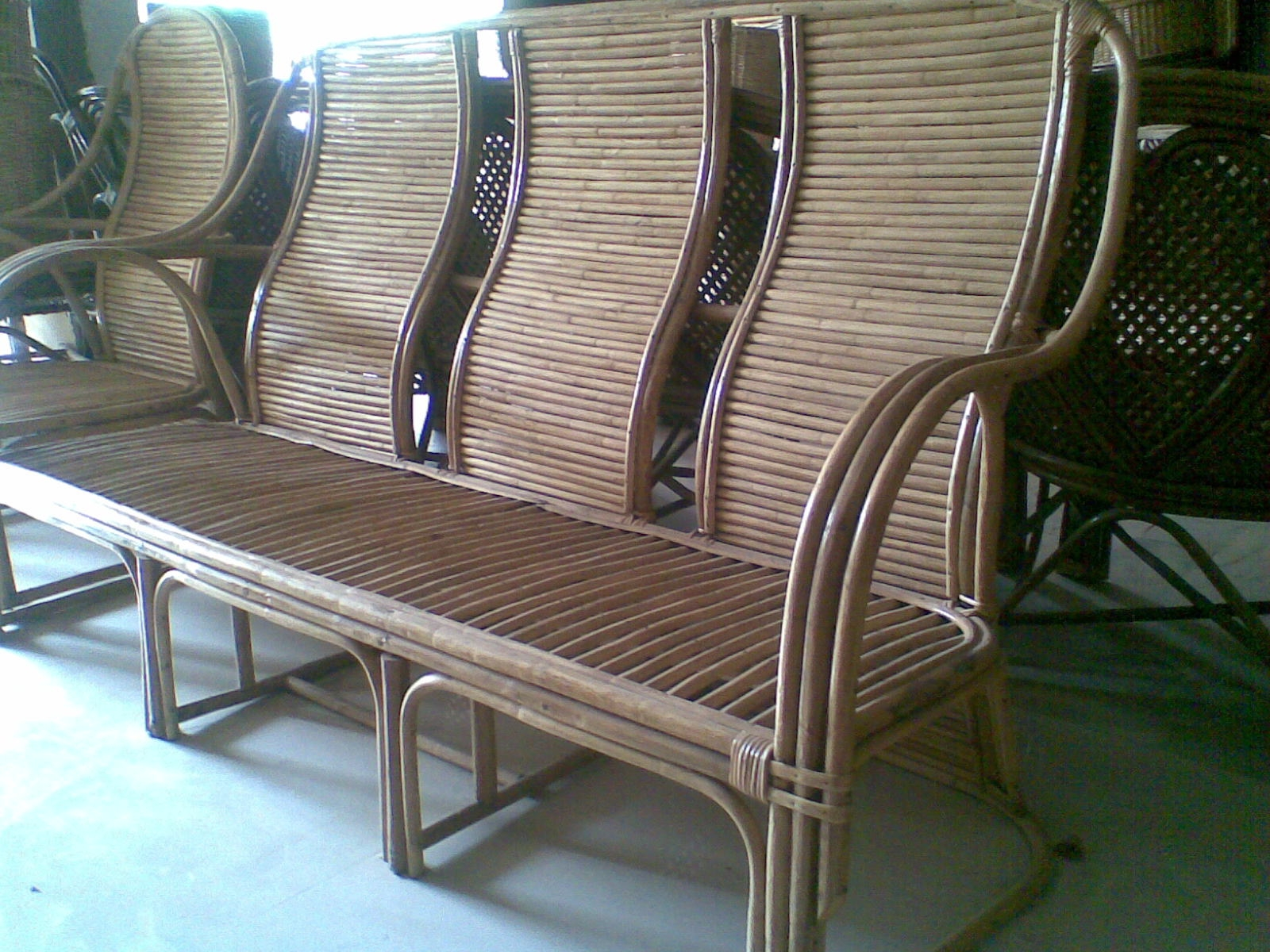 Cane Sofa Set Online India Rattan Cane Furnitures Best